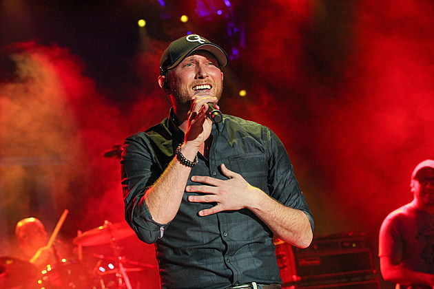 Cole Swindell performs at CRS New Faces 2015