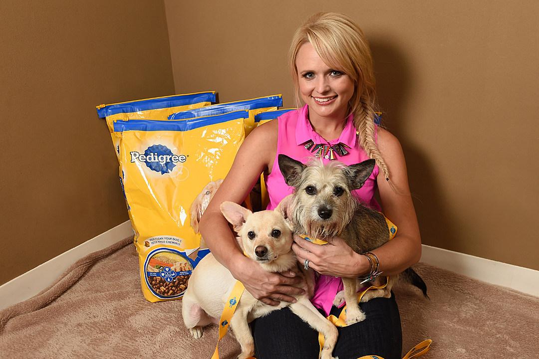 Miranda Lambert And Pedigree Brand Unite To Help Shelter Dogs