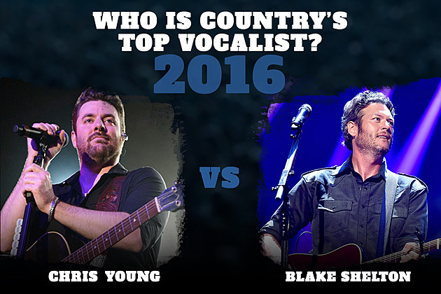 Chris Young Blake Shelton Top Vocalist