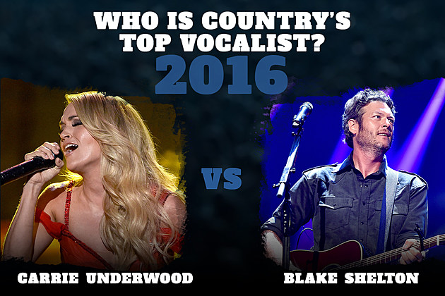 Carrie Underwood Blake Shelton Top Vocalist