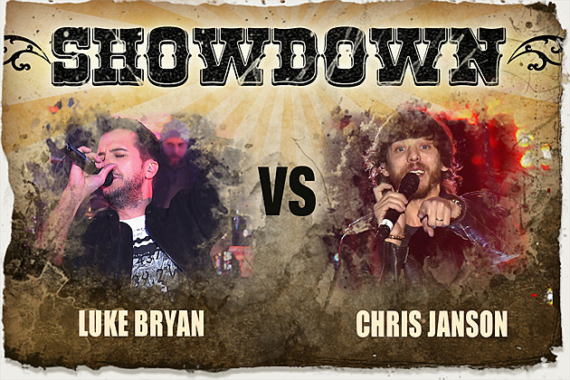 Luke Bryan Chris Janson Showdown