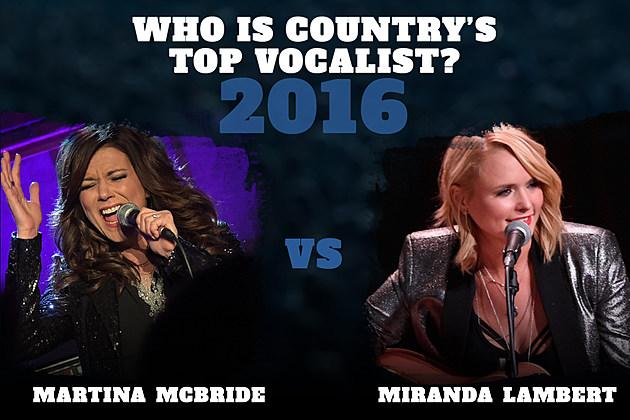 Martina McBride vs Miranda Lambert