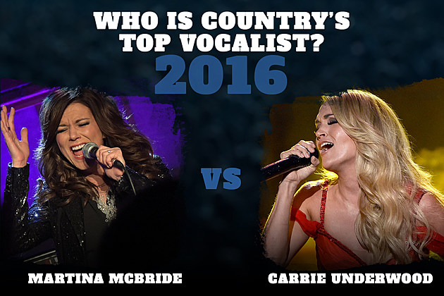 Martina McBride vs Carrie Underwood