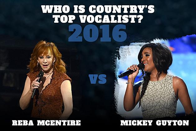 Reba McEntire vs Mickey Guyton