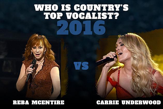 Reba McEntire Carrie Underwood Top Vocalist