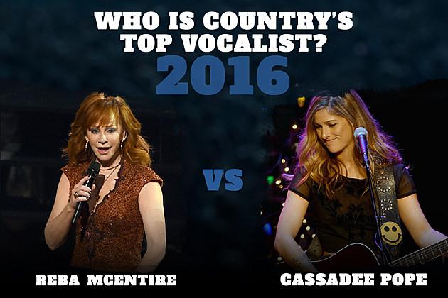 Reba McEntire Cassadee Pope Top Vocalist