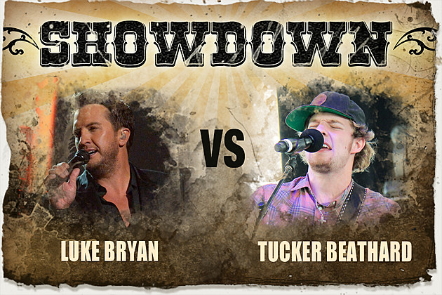 Showdown Luke Bryan vs Tucker Beathard