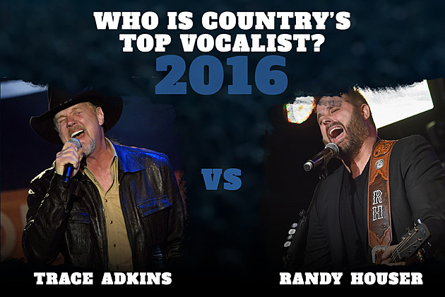 Trace Adkins Randy Houser Top Vocalist