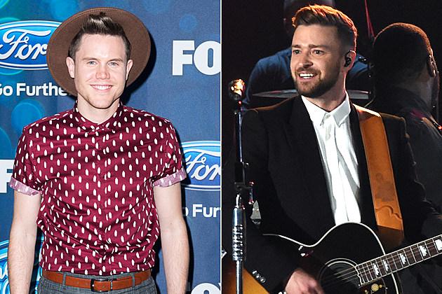Trent Harmon Justin Timberlake American Idol