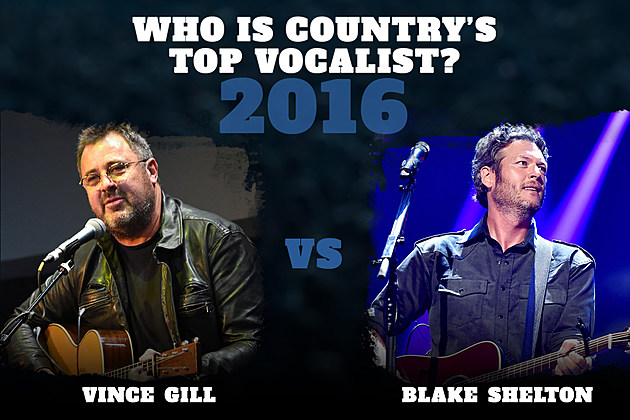 Vince Gill Blake Shelton Top Vocalist