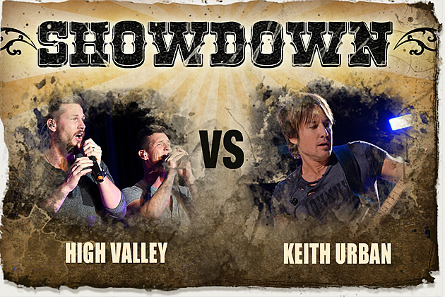 high valley make you mine, keith urban wasted time