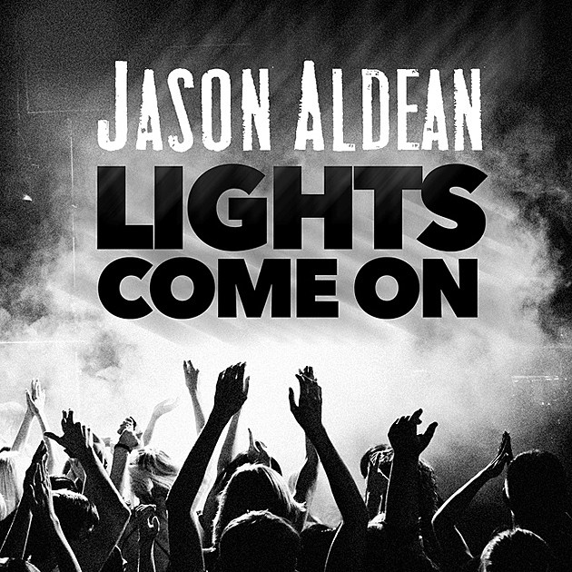 Aldean When the Lights Come On Cover Art