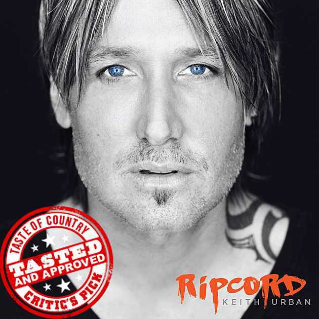 Keith Urban Ripcord Cover