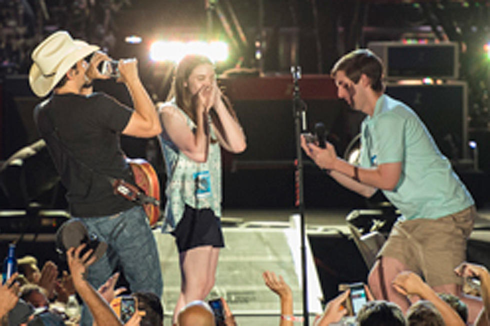Brad Paisley Helps Orchestrate Marriage Proposal Watch