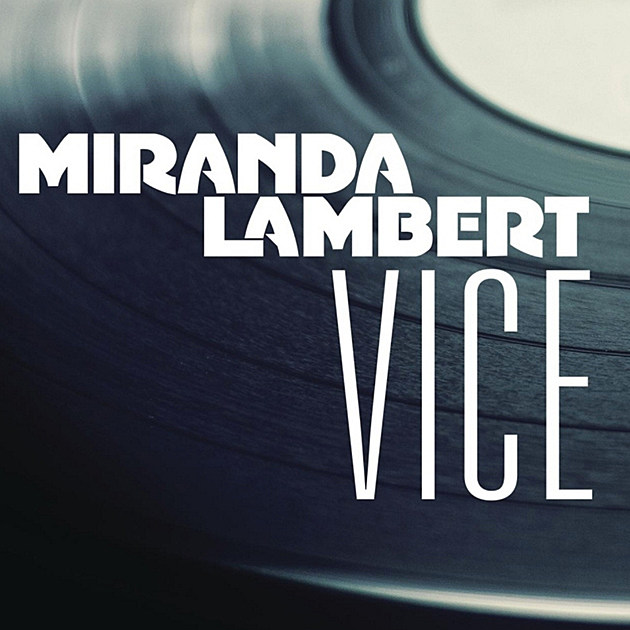 Miranda Lambert Vice Album Art