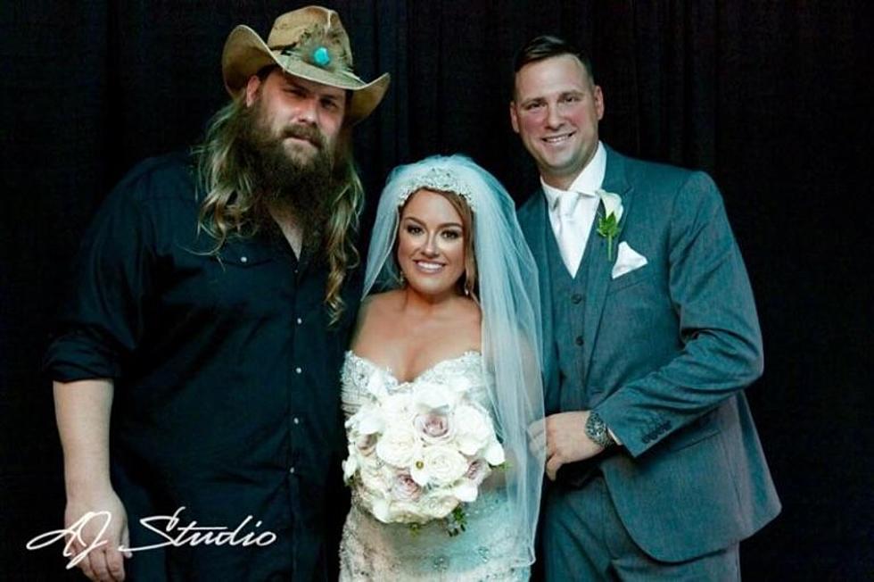 Chris Stapleton is Best Wedding Gift Ever for Surprised Bride