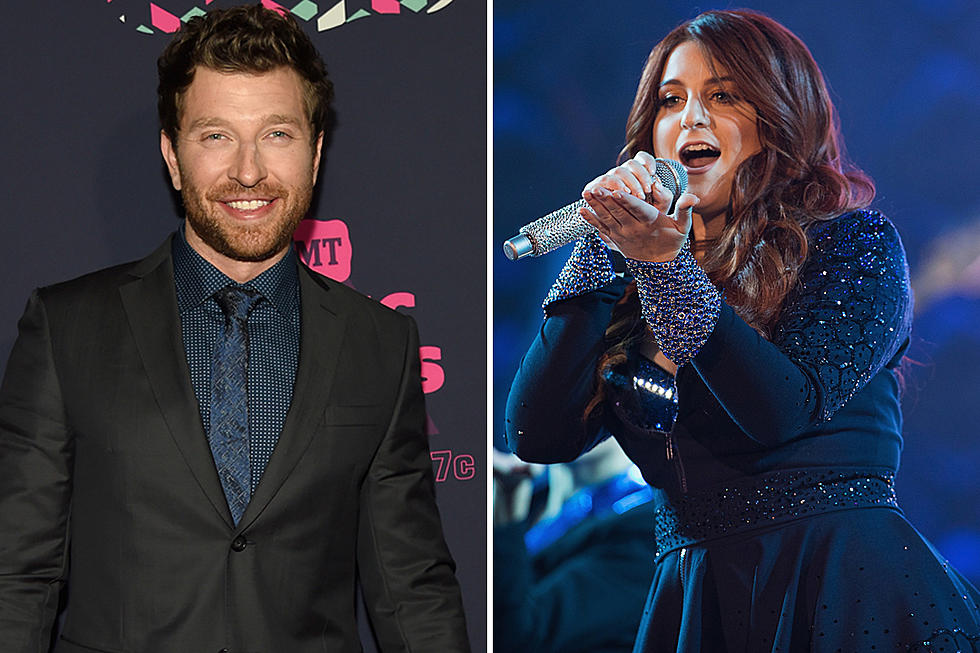 brett eldredge talks meghan trainor duet and being allergic to christmas trees