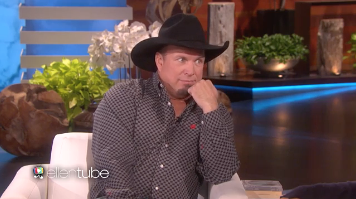 Garth Brooks Stops by 'Ellen,' Admits He Was Afraid to Make His Country Comeback