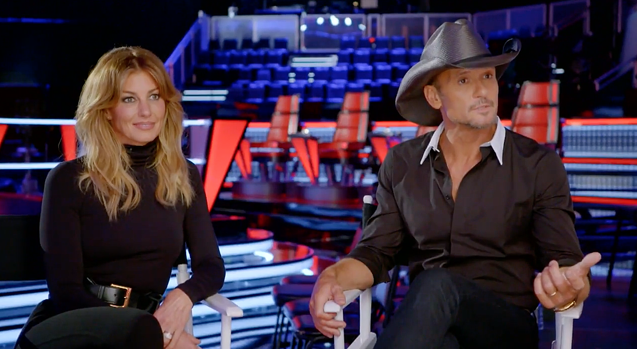 Tim McGraw and Faith Hill Get Real With 'The Voice' Contestants in Sneak Peek