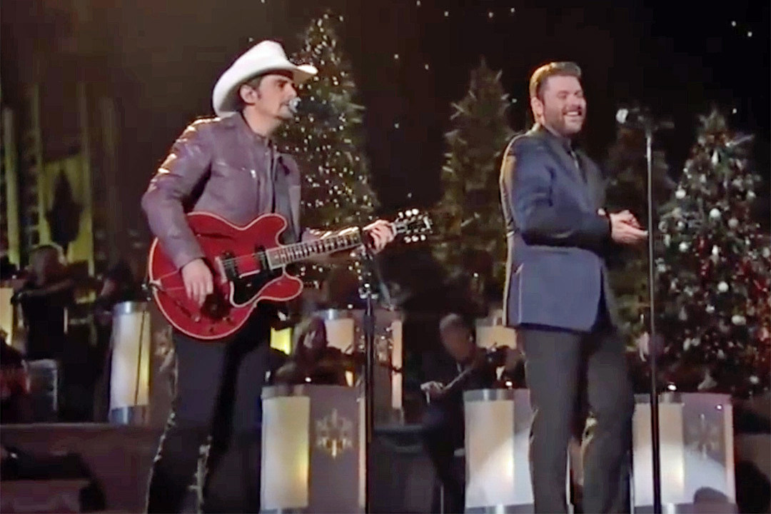chris young brad paisley team for first noel on tv special