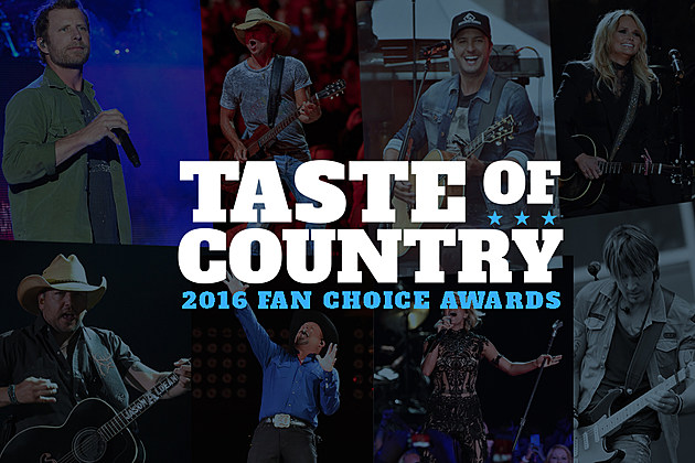 tour of the year 2016 taste of country fan choice awards