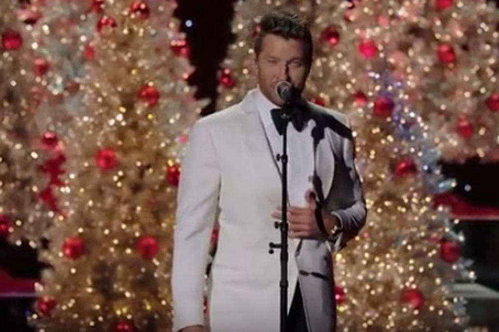 brett eldredge brings holiday cheer with let it snow watch