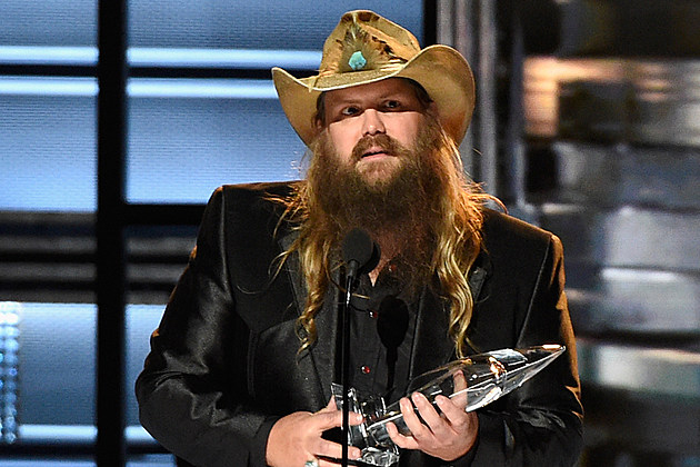 Chris Stapleton Wins Male Vocalist Of The Year At 2016 Cmas