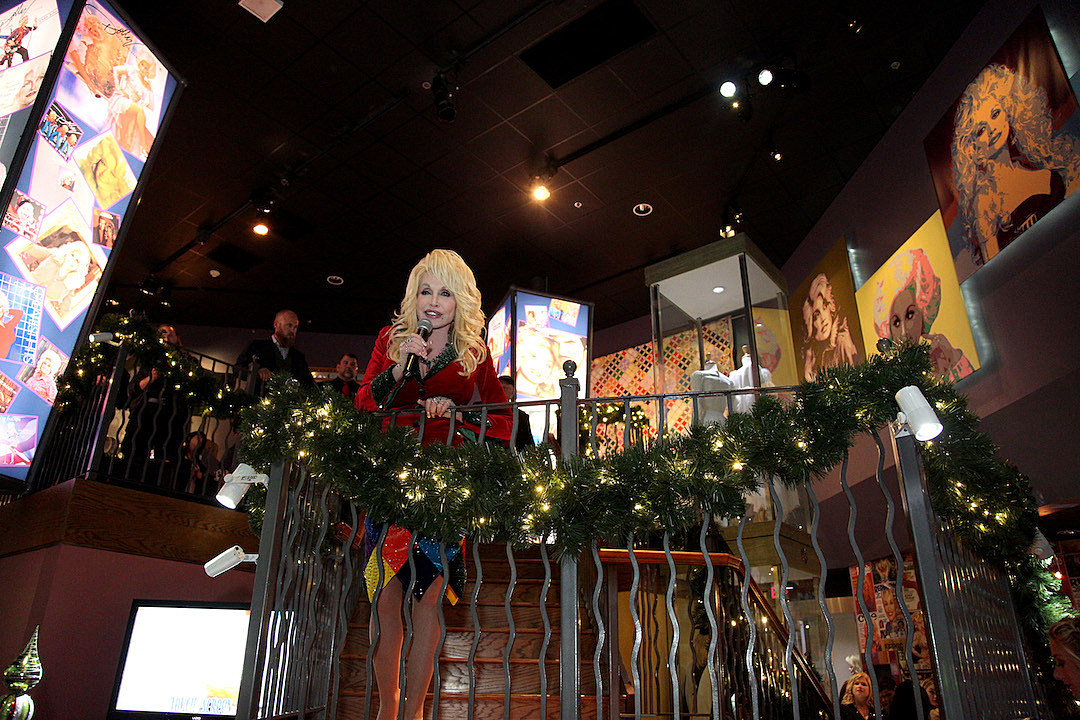 Dolly Parton Celebrates 'Christmas of Many Colors' Premiere