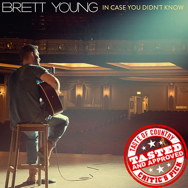 Brett Young In Case You Didn't Know Single Art