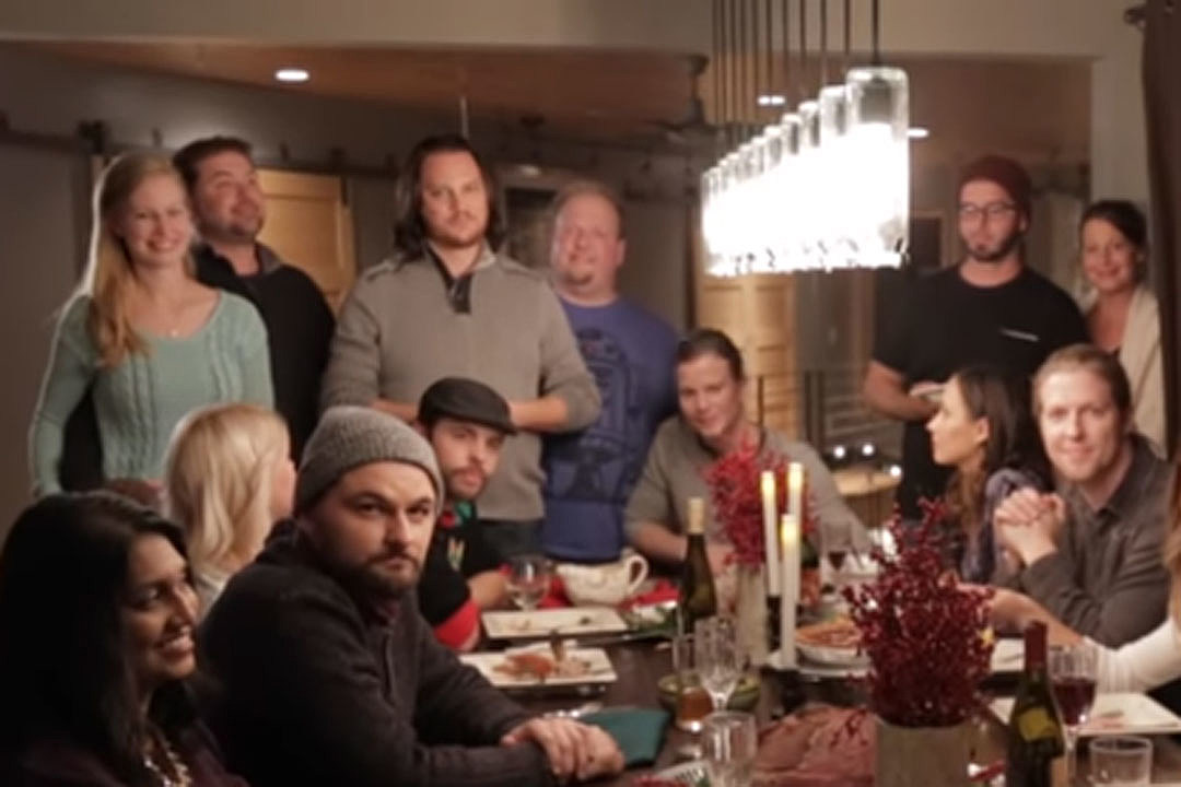 home frees families featured in white christmas video - Home Free Christmas
