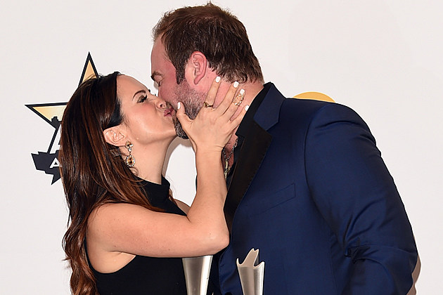 Lee Brice and Wife Sara Baby