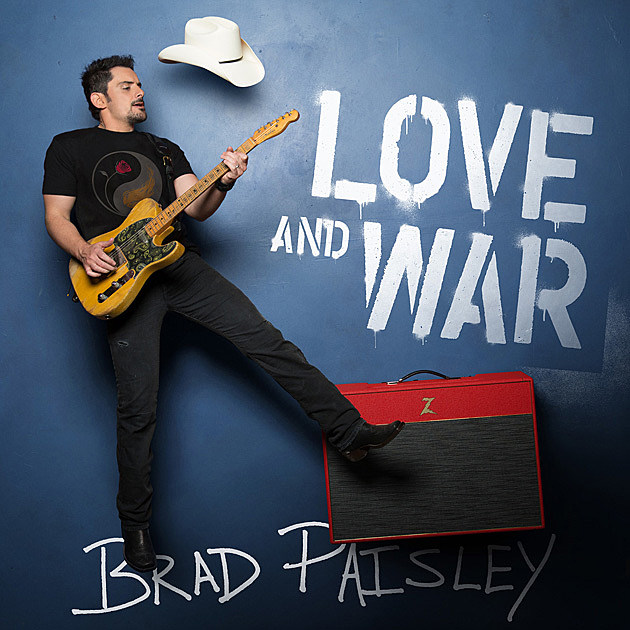 Paisley Love and War Album Art