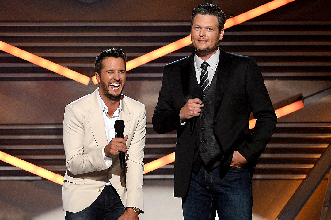 luke bryan team blake blake shelton the voice mentor