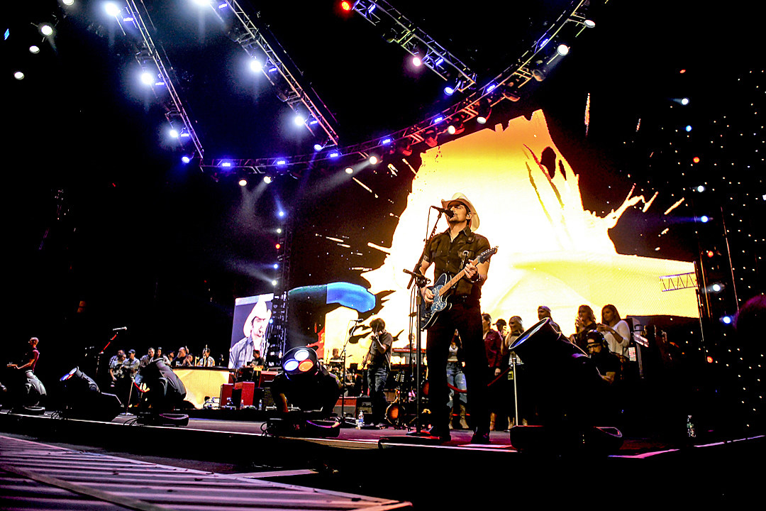 Brad Paisley's Life Amplified Tour Hits Wilkes-Barre [Pictures]