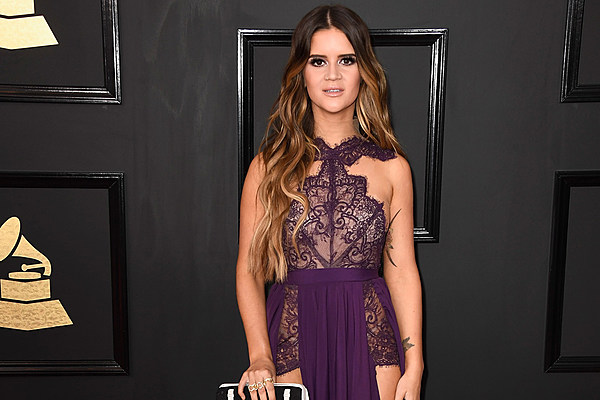 Maren Morris Is Perfect In Purple on the Grammy Red Carpet