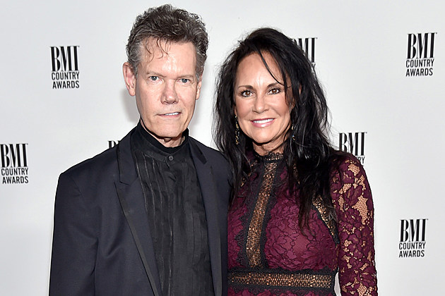 Randy Travis and Wife
