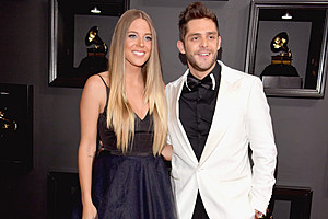 Thomas Rhett Lauren Grammy Red Carpet