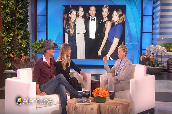 Tim mcgraw is an overprotective father for How old are faith hill s daughters