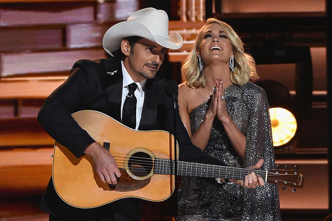 Brad Paisley And Carrie Underwood Returning As Cma Awards Hosts