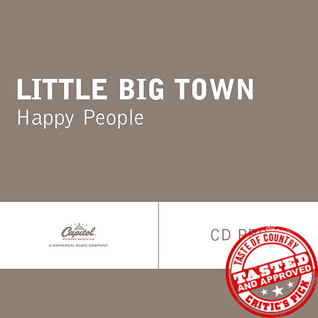 Little Big Town Single Happy People