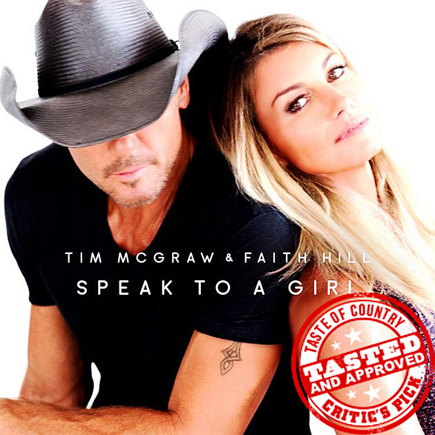 Tim McGraw and Faith Hill Release New Duet 'Speak to a Girl'