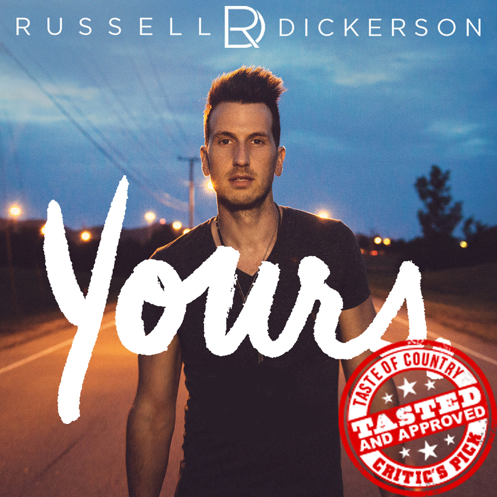 Russell Dickerson Yours Cover Art