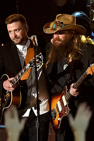 Timberlake Stapleton CMA Awards