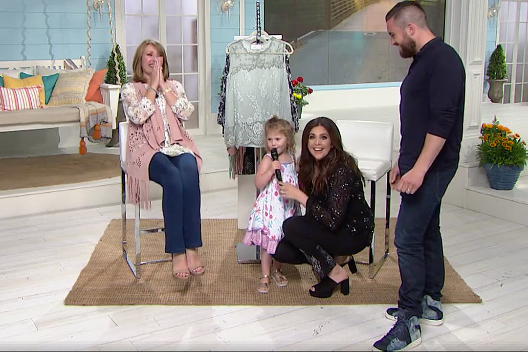 Hillary Scott's 3-Year-Old Is the Real Star During HSN Appearance [Watch]