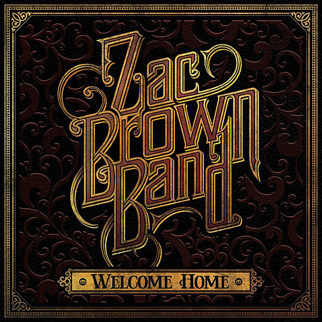 Zac Brown Welcome Home Album Art