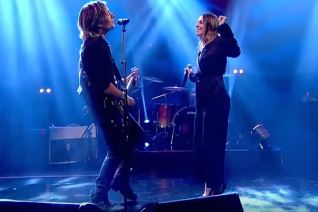 Keith Urban Rocks Out to 'The Fighter' With Sporty Spice [Watch]