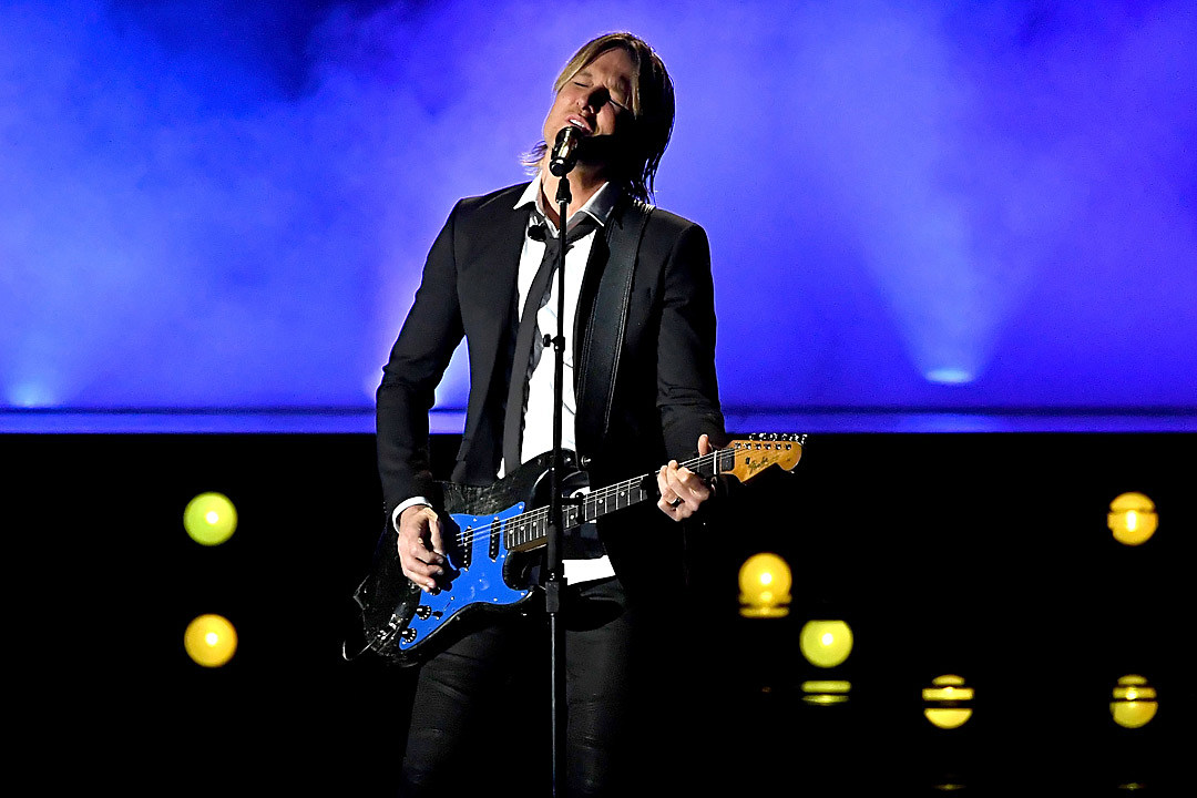 Keith Urban Blue Ain't Your Cover