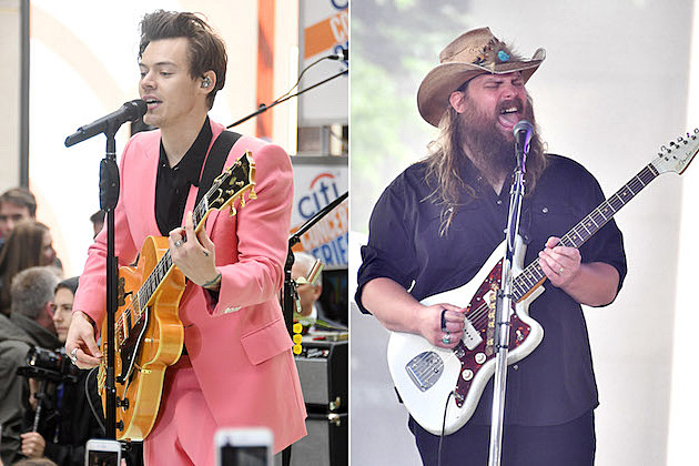 Harry Styles Wants to Collaborate With Chris Stapleton