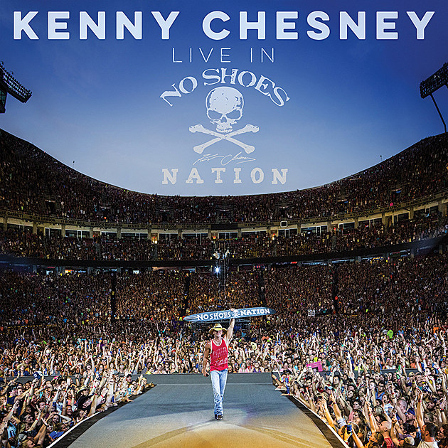 kenny chesney s live in no shoes nation album features taylor