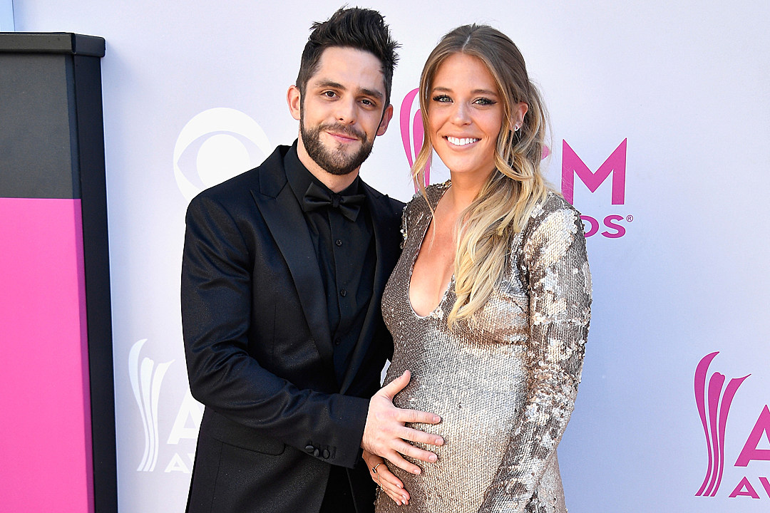Thomas rhett and wife lauren on life as a family of four m4hsunfo